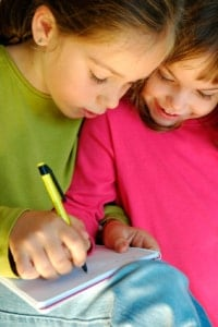 Girls Journal Sharing