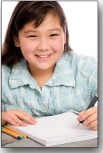 Schoolgirl.