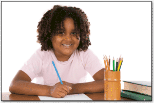 Elementary Writing | Girl Student Journaling