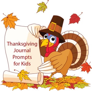 Thanksgiving Journal Prompts for Kids